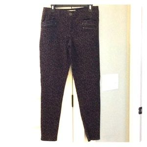 Democracy Ab Solution leopard skinny jean/pant